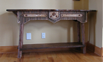 rustic table-rustic hall table-rustic sofa table