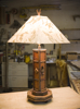 rustic lamp, rustic lighting, rustic furniture