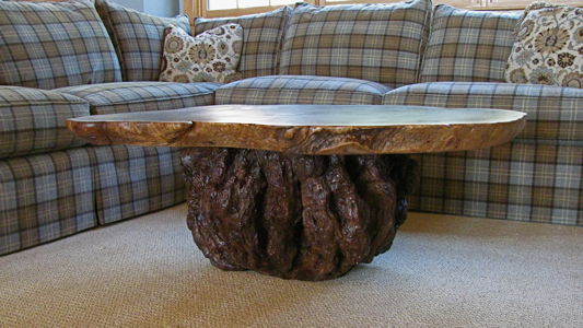 Rustic Table Rustic Coffee Table Burl Table
